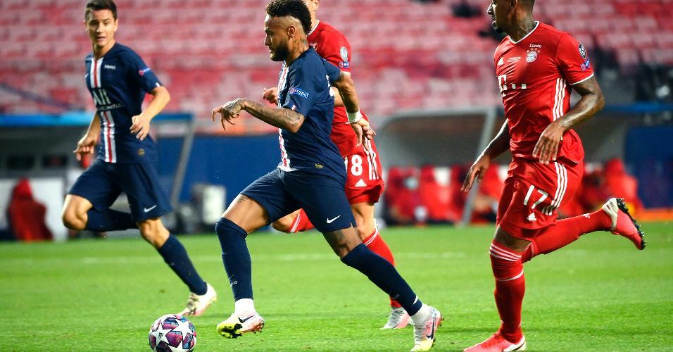 Neymar puca contra-ataque na final da Liga dos Campeões