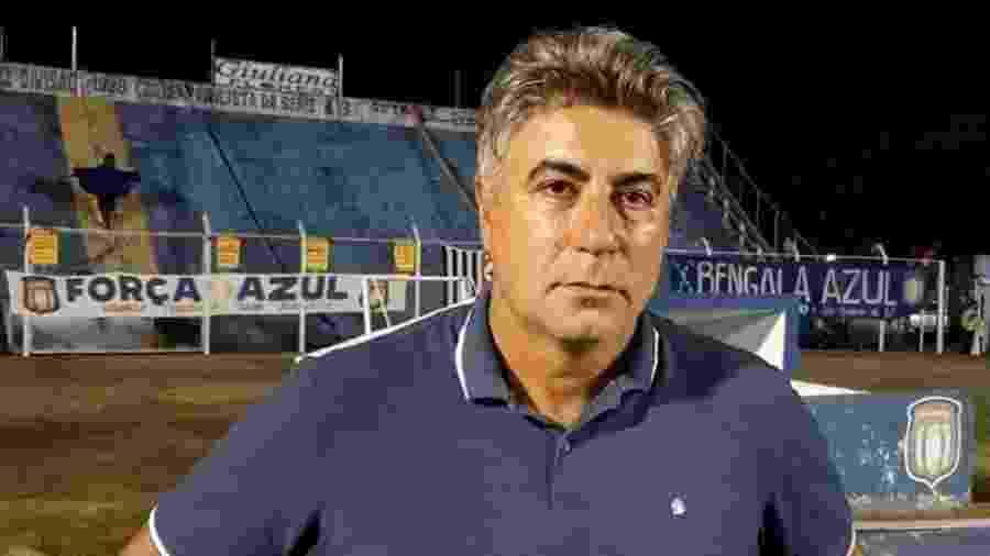 Alexandre Gallo, após jogo do São Caetano - Divulgação/AD São Caetano