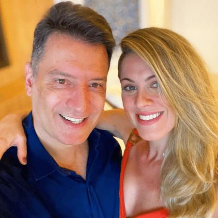 Luiz Carlos Junior e Jacqueline Brazil assumiram o namoro - Reprodução/Instagram