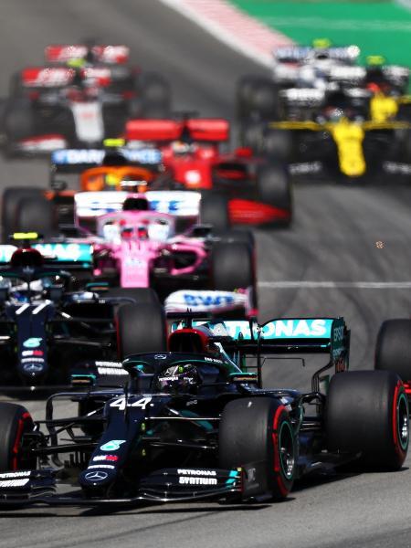 Lewis Hamilton liderou o grid de largada do GP da Espanha em 2020 - Dan Istitene - Formula 1/Formula 1 via Getty Images