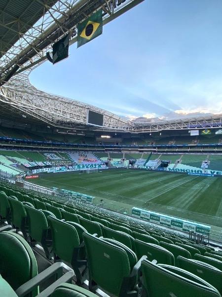 Empresa foi responsável por construir o Allianz Parque, mas desistiu de fechar contrato com o Corinthians - Palmeiras/ Divulgação