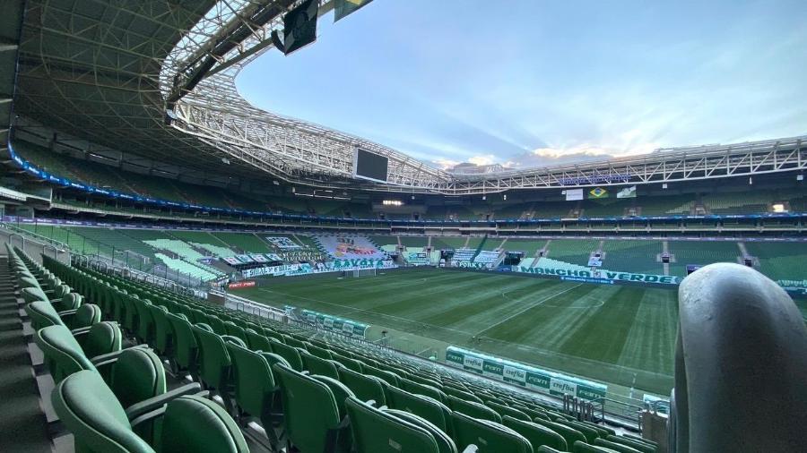 Palmeiras encara o Fluminense no Allianz Parque - Palmeiras/ Divulgação
