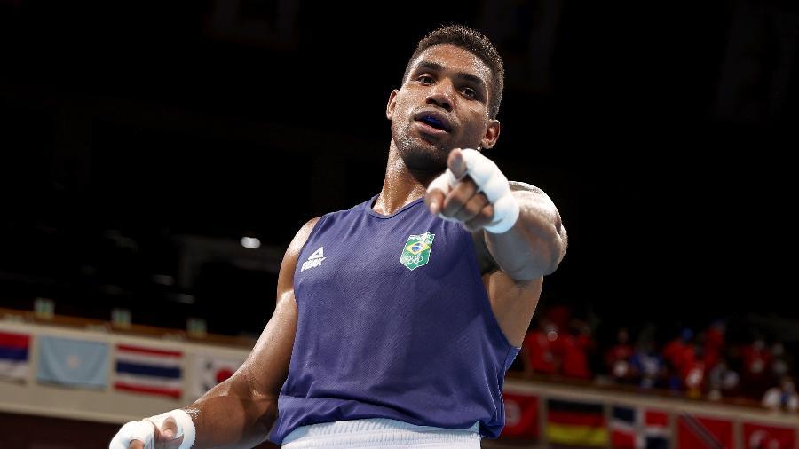 Brasileiro está na semifinal do peso pesado do boxe masculino - Buda Mendes/Getty Images