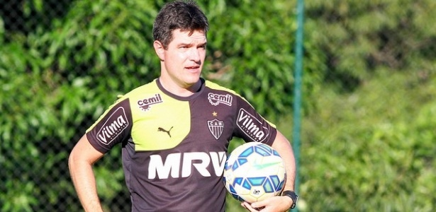 Diogo Giacomini, treinador do time júnior, assume o Atlético-MG na reta final do Brasileiro