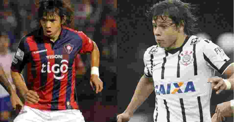 Oscar e Ángel Romero - Montagem/EFE e Agência Corinthians