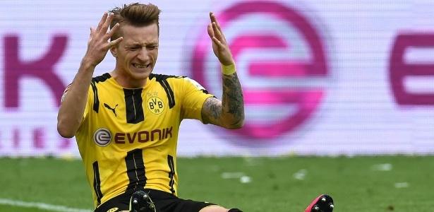 Reus se recupera de grave lesão no joelho - AFP PHOTO / PATRIK STOLLARZ