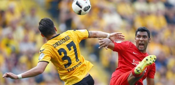 Dynamo Dresden e RB Leipzig se enfrentaram na primeira fase da Copa da Alemanha - Axel Schmidt/Reuters
