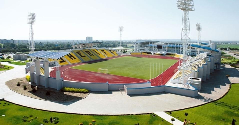 Sherrif tem três estádios: na foto, o menor, para jogos de menor expressão