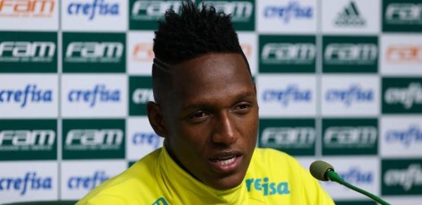 Mina disse que Palmeiras tem sido fundamental na evolução na carreira; Barça pode contratá-lo