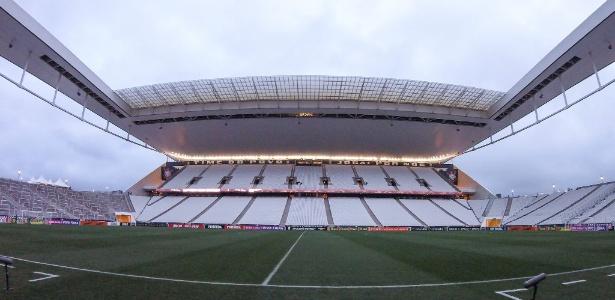 Vista geral da Arena Corinthians