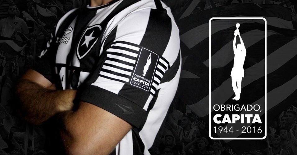 Botafogo fará homenagem a Carlos Alberto Torres neste sábado