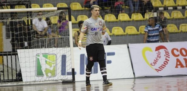 Guitta é um dos maiores destaques do time do Corinthians de futsal - Divulgação