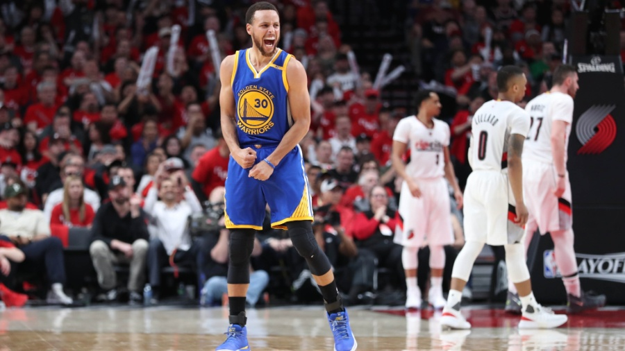 Stephen Curry foi o jogador da NBA que mais vendeu produtos na temporada - Jaime Valdez/USA TODAY Sports
