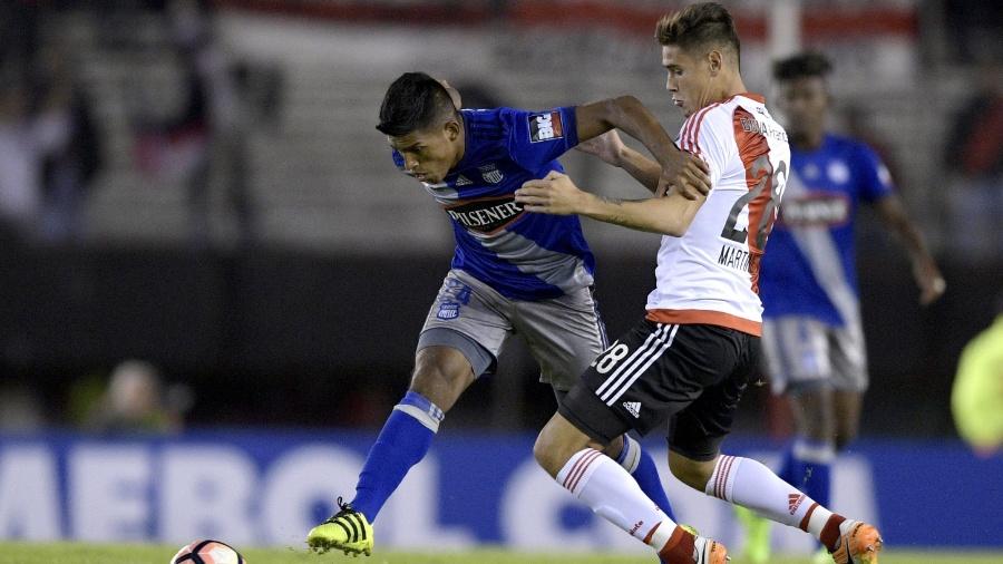 Lucas Martinez Quarta, jogador do River Plate flagrado em exame antidoping - Juan Mabromata/AFP Photo