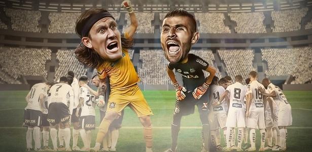 Eles lutam pela Copa do Mundo, mas antes se encontram na Vila Belmiro