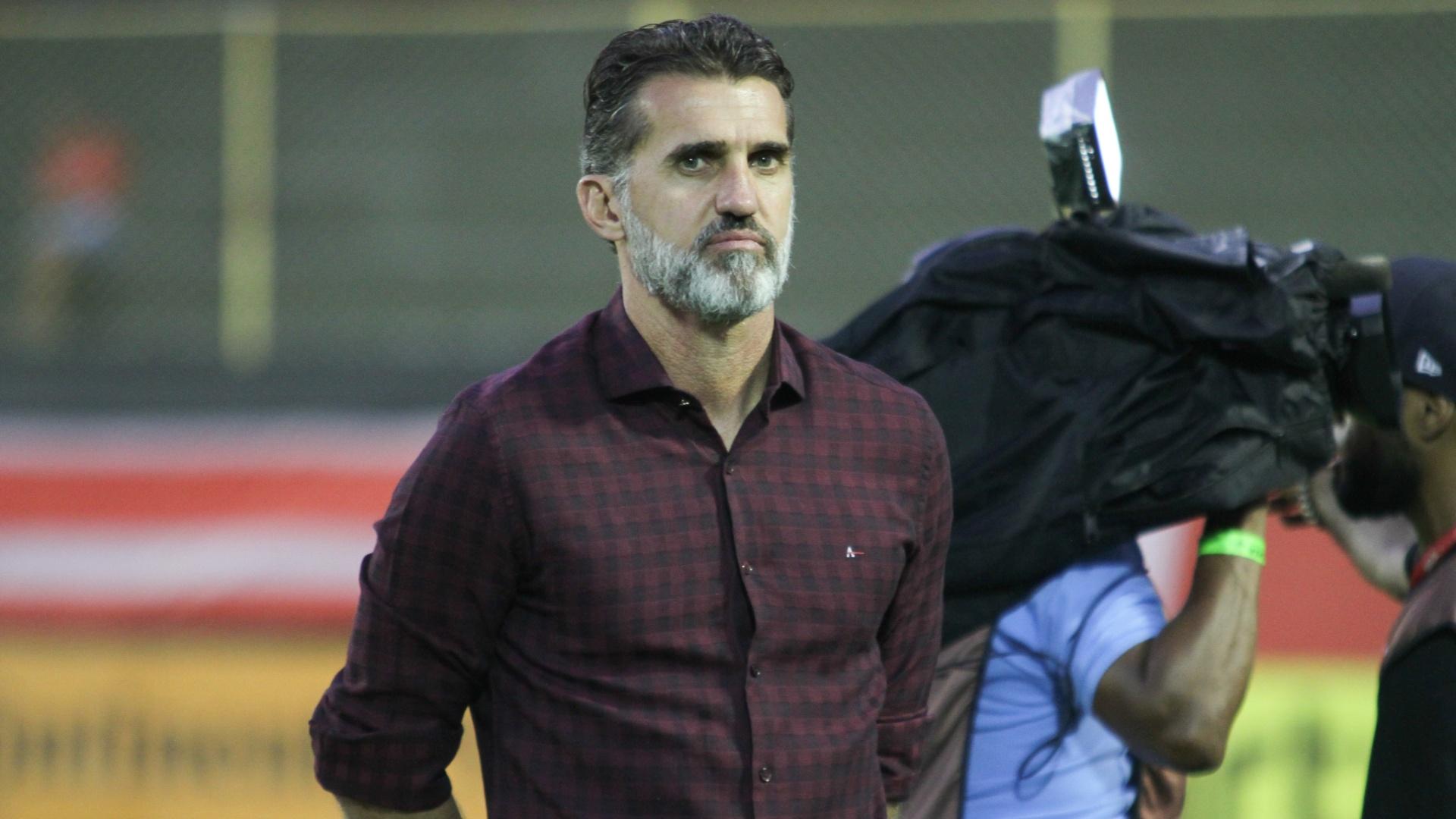 Vagner Mancini, técnico do Vitória