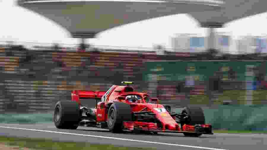 Raikkonen Ferrari GP China - REUTERS/Aly Song