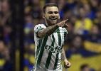 Como o Palmeiras se fechou para fazer história dentro da Bombonera - AFP PHOTO / JUAN MABROMATA