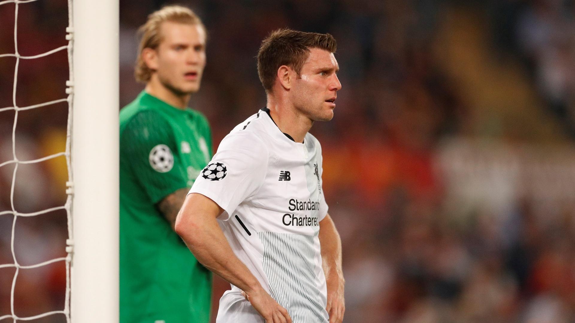 Milner lamenta infelicidade após gol de empate da Roma