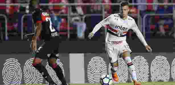 Lucas Fernandes também foi expulso durante a partida contra o Vitória - Marcello Zambrana/AGIF