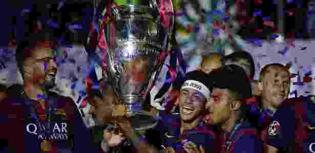 Neymar Champions - AFP PHOTO / OLIVIER MORIN - AFP PHOTO / OLIVIER MORIN