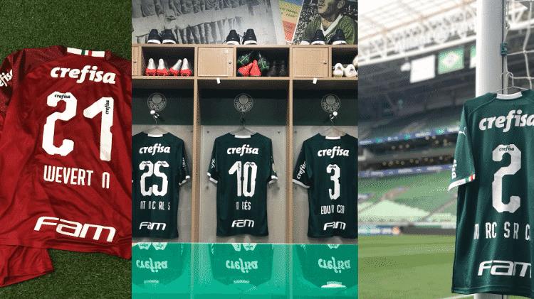 Reprodução/Twitter Palmeiras