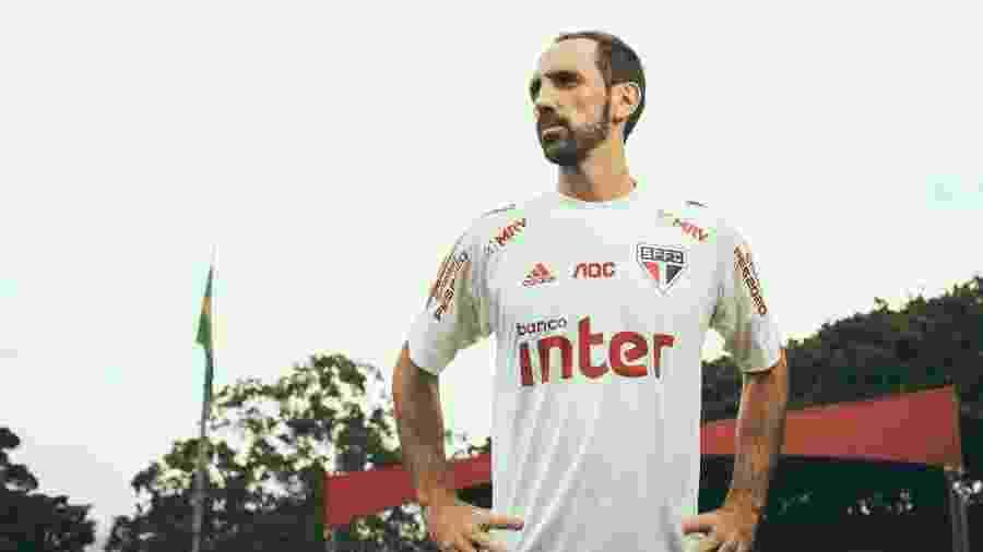 Juanfran Torres, jogador do São Paulo - Marcus Steinmeyer/UOL