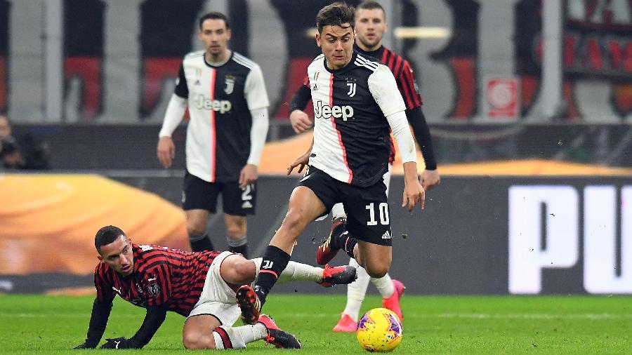 Dybala se lesionou e ainda é dúvida para duelo contra o Lyon - Alessandro Sabattini/Getty Images
