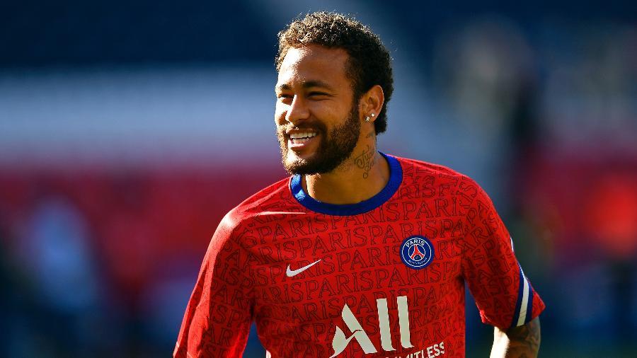 Neymar, do PSG, é o atacante mais caro de todos os tempos - PSG via Getty Images