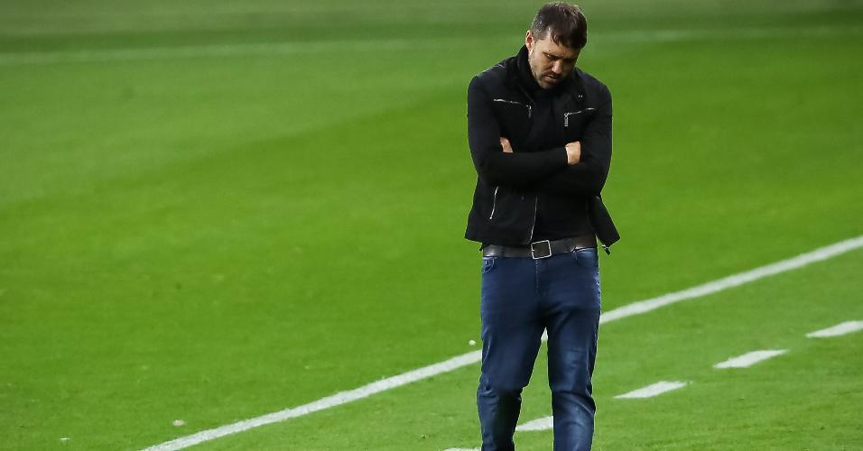 Eduardo Coudet lamenta atuação do Inter contra o São Paulo