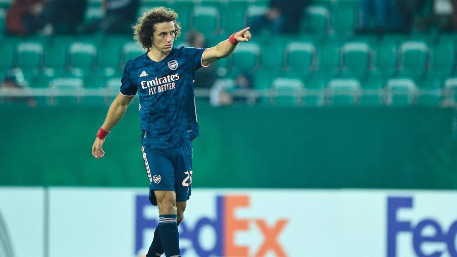 David Luiz está em término de contrato com o Arsenal  - CHRISTIAN BRUNA/EFE