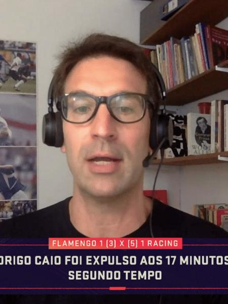 Arnaldo Ribeiro, em participação no Seleção SporTV - Reprodução/SporTV