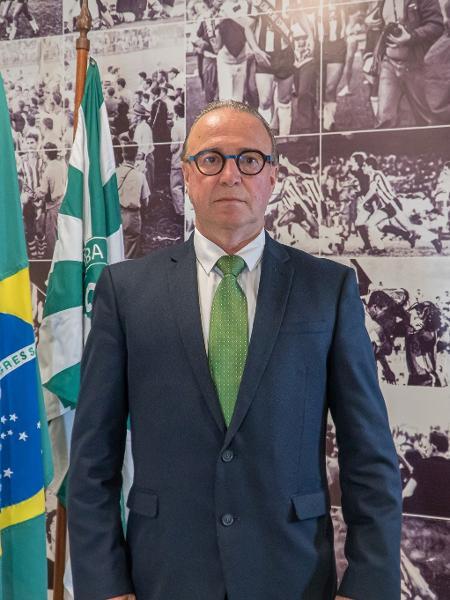 Renato Follador, presidente do Coritiba - Divulgação/Coritiba