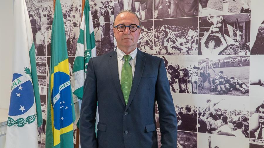 Renato Follador, novo presidente do Coritiba - Divulgação/Coritiba