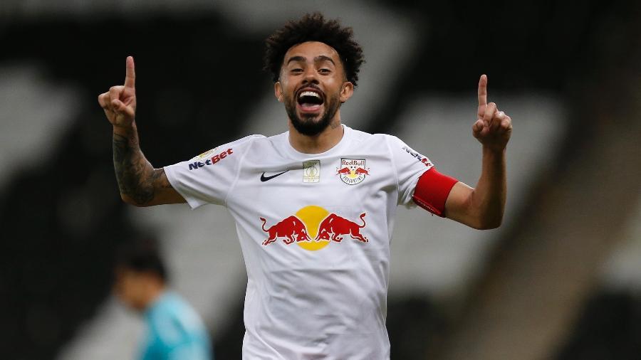 Claudinho, meia-atacante do Red Bull Bragantino. Jogador foi eleito craque e revelação do Campeonato Brasileiro - Ari Ferreira