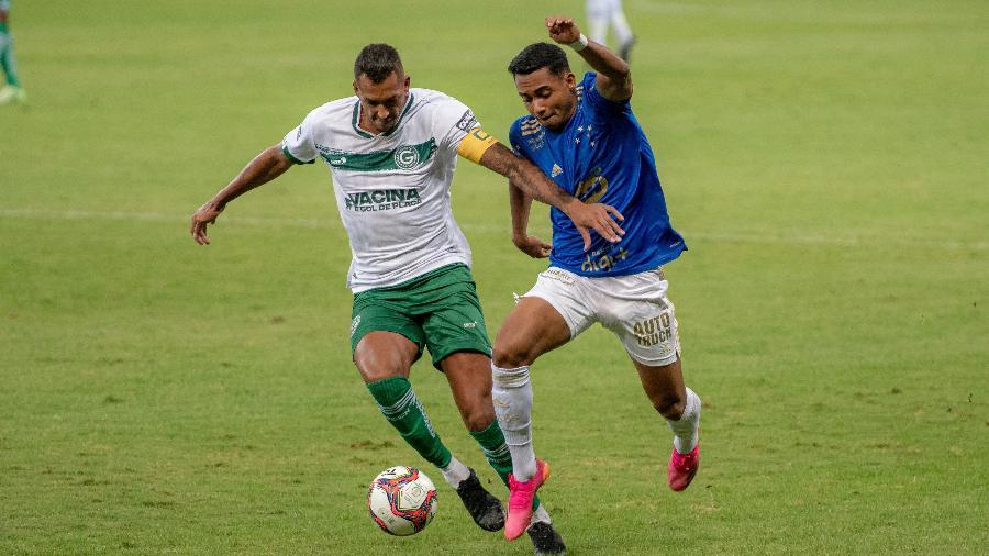Airton, do Cruzeiro, na partida contra o Goias, no Mineirão, pela Série B do Brasileiro - Alessandra Torres/AGIF
