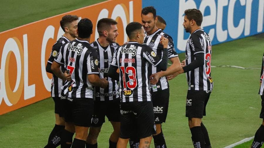 O Atlético-MG faz campanha excelente na Copa Libertadores e também na Copa do Brasil - Maxi Franzoi/AGIF