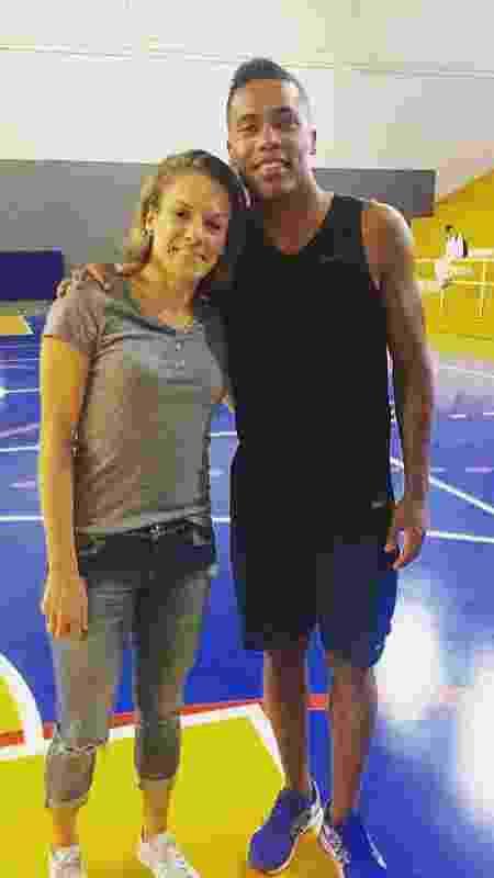 Natalia e Alex Sandro - Acervo pessoal - Acervo pessoal