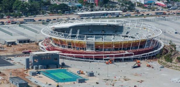 Centro Olímpico de Tênis integra o Parque Olímpico da Barra da Tijuca, no Rio de Janeiro. No total, complexo conta com 16 quadras.