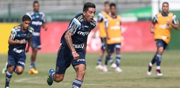 Barrios usou o Twitter para responder às declarações de Cuca - Cesar Greco/Ag Palmeiras
