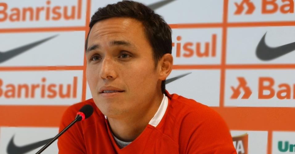 Luis Manuel Seijas é apresentado oficialmente como reforço do Internacional