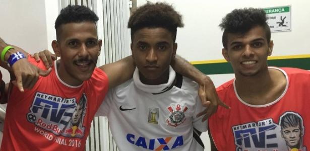 Fadhel Khamis, torcedor do Corinthians, defende os Emirados Árabes em torneio de Neymar