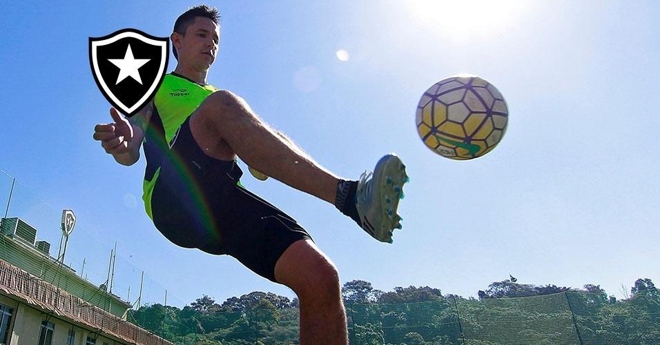 Montagem - Canales (atacante) - Da Universidad de Chile para o Botafogo