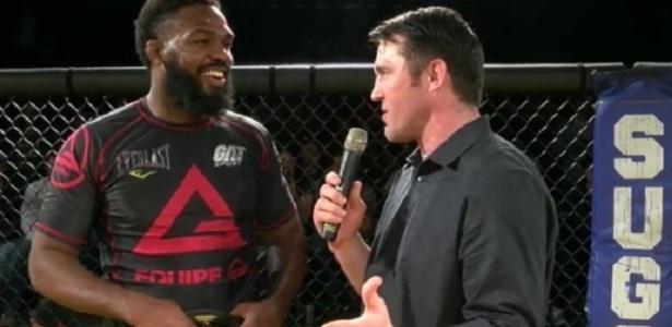 Jones venceu lenda do MMA em luta de jiu-jítsu sem kimono - Reprodução/ FloGrappling