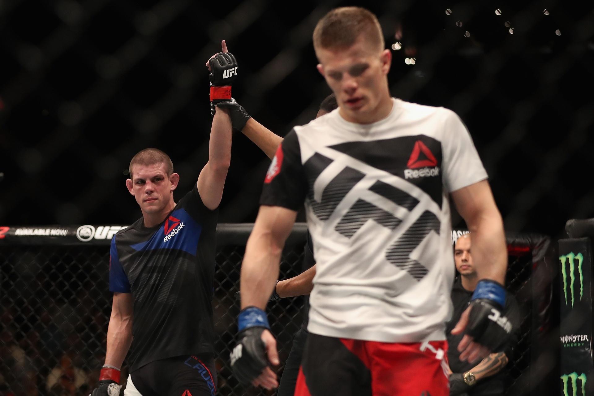 Joe Lauzon é declarado vencedor em luta contra Marcin Held