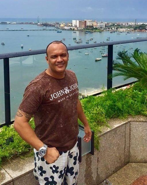 Rubens Dórea, treinador de boxe e de MMA