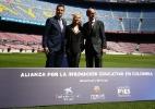 Shakira e Barça fazem acordo para criação de centro educacional na Colômbia - AFP PHOTO