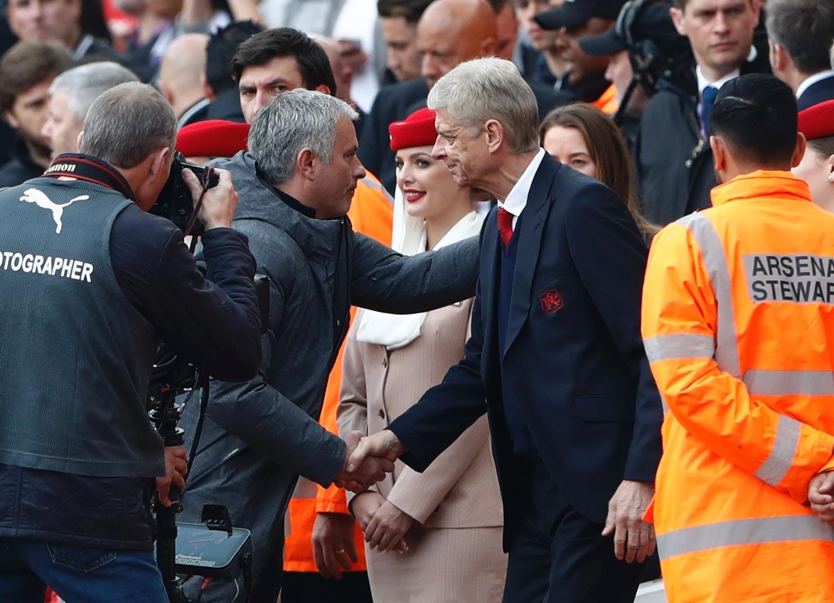 Arsene Wenger e Jose Mourinho