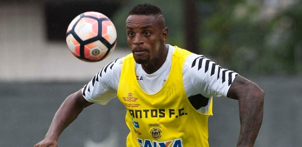 Zagueiro Cleber não vem tendo chances no Santos e pode ser emprestado