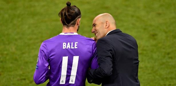 Bale assegurou sua permanência na equipe comandada por Zidane